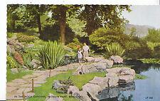 Sussex Postcard - In The Rock Gardens - Preston Park - Brighton    XX142