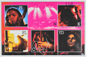 Roger Waters & Nick Mason Pink Floyd Authentic Signed 20x30 Poster BAS #A71928