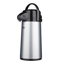 Thermos Push Button Pump Air Pot Glass Liner Drink Coffee Dispenser 1.9L 184637