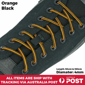 Bootlace Shoelace Sneaker Hiking Sports Casual Shoe Work Boot Laces Round SB 4mm