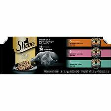 Premium Sheba Perfect Portions Cuts in Gravy Wet Cat 36 (2.6 oz. Twin-Pack...