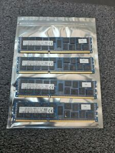 64GB Lot Of 4 SK Hynix PC3-14900R-13-12-E2 16GB Sticks ECC HMT42GR7AFR4C-RD T8