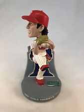 Cole Hamels Clearwater Threshers Phillies 2008 World Series Bobblehead Sga