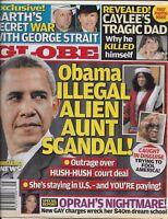 Globe Magazine Barack Obama Garth Brooks George Strait Oprah Daryl Hannah 2009