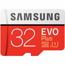 Samsung microSDHC 32 GB EVO Plus mit SD-Adapter, Class 10 / U1