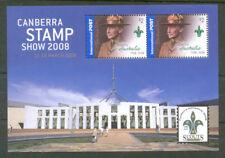 Australia-Canberra Stamp Show min sheet mnh 2008-Scouts-scarce (2934)
