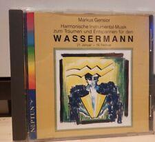 CD - WASSERMANN - MARKUS GENSIOR  Entspannungsmusik