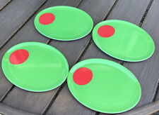 "Olive Plate Salad Plate 8"" X 6"" Set Of Four, Cute"