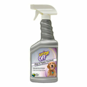 Urine Off Dog & Puppy Formula Spray Bio-Enzymatic Odour Stain Remover 500ml