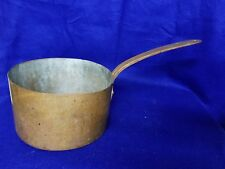 Antique Hand Made Copper Pot, Dovetailed