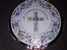 A Communion Celebration Silver Mylar Balloon