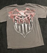 Boys Tapout Red Short Sleeve Shirt Medium (10/12)