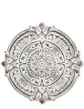 "Victorian Trading Co Metal Rustic Baroque Indoor/Outdoor Wall Medallion 25"" 31Z"