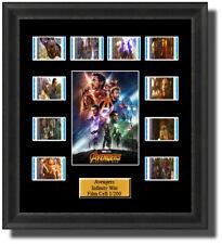 Backlight Avengers Infinity War 2018 Framed 35mm Film Cell Memorabilia Backlit