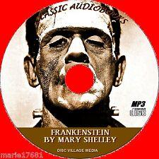 Frankenstein MP3 CD GREAT Clásico audiolibro por Mary Shelley íntegro Inglés