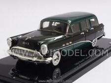 Buick Century Estate Wagon 1954 Black/Green 1:43 TRUESCALE TSM144315