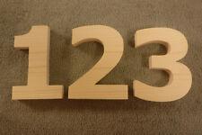 "Wooden House numbers/ Wood Veranda 5"" to 7"" tall/Street Address"