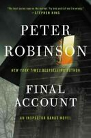 Final Account, Paperback by Robinson, Peter, Brand New, Free P&P in the UK