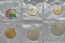 GUINEA-BISSAU SET 5 COINS 1977 BU