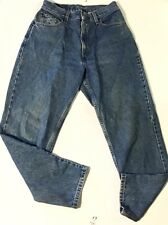 "Levi's Women's Size 10 Classic Relaxed 550 Tapered Leg Blue Jeans- (30""x30"")"