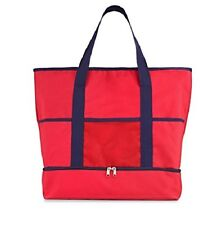 Red Big INSULATED Tote, Shopper, Shoulder, Picnic, Hand Bag NEW - Great.