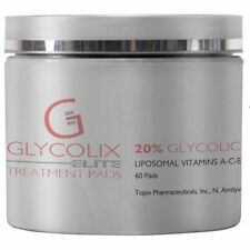 Topix Glycolix Elite Treatment Pads 20% 60 Pads Brand New Sealed, Fresh