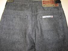 -72) Herren Psycho International Hose Straight Fit Zip Fly W 30 Bein 30