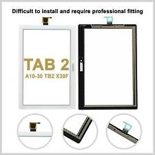 For Lenovo Tab 2 A10-30 TB2 X30F Touch Screen Digitizer Top Glass Lens - White