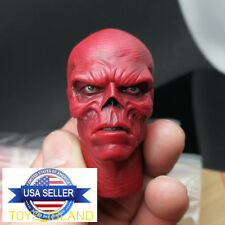1/6 Red Skull Head Sculpt Hugo Weaving For Captain America Hot Toys Figure ❶USA❶