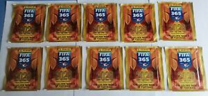 10 packs / 50 Sticker PANINI FIFA 365 2020 Haaland Greenwood