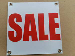 PVC Banners Sale Sign outdoor printed advertising display Ready to Hang