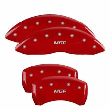 MGP Caliper Brake Covers for Dodge 11-19 Charger Red Paint 12162SMGPRD