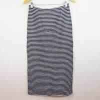 SHONA JOY | Limited Edition Womens Striped Pencil Skirt [ Size AU 8 ]