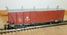 Techno-Modell H0m 4403 Narrow Gauge Freight Car 97-10-92 Dr Braun Roof Grey