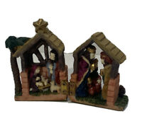 Miniature Fold-Out Nativity Scene Christmas
