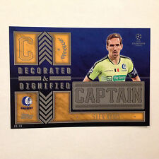 SVEN KUMS KAA GENT Captain D&D #ed/10 Made 2016 Topps Champions UEFA 5X7 GOLD