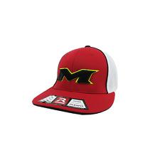 Miken Hat by Richardson (R165) Red/White/Red/Volt/Black LG/XL