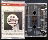 Jose Carreras The Essential 1991 Australian Tour Edition Tape Cassette (C12)