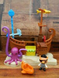 Octonauts Kwazii's Shipwreck Pirate Ship Playset