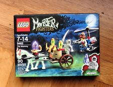SEALED LEGO Monster Fighters THE MUMMY 9462 glow in the dark horse IMPERFECT BOX
