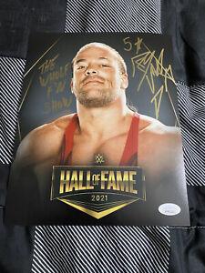 Rob Van Dam Signed & Inscribed 8 x 10 JSA Certified - WWE ECW Impact AEW NWA