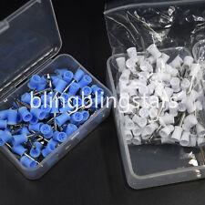 200 Pcs Dental Rubber Prophy Cup Polishing Polish Cup Brush Latch Type