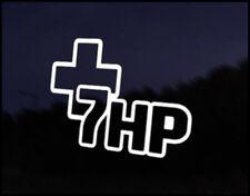 +7HP Car Decal Sticker JDM Vehicle Bike Bumper Graphic Funny