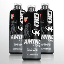 Mammut Amino Liquid Aminos BCAA Eiweiss Vitamin B6  3 x 1 Ltr. 9,87€ pro Ltr.
