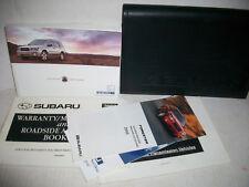 2003 Subaru Forester owners manual kit