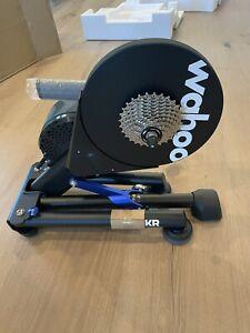 Wahoo Kickr Smart Power Indoor Trainer V5 (lightly used)