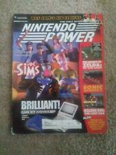 INSERT ATTACHED!!! Nintendo Power Magzine # 166 March 2003 Sims Cover