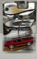 HOT WHEELS 1970 CHEVROLET CHEVY Chevelle SS G MACHINES COLLECTIBLE CAR Streetrod