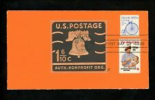 Ranto Cachet US FDC #1901 on U548A w/ 1910  Bicycle American Red Cross 1982