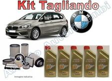 KIT TAGLIANDO BMW ACTIVE TOURER OLIO CASTROL EDGE 0W30 + FILTRI dal 11/2014